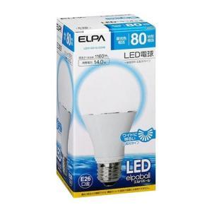 ELPA(エルパ) LED電球 一般電球A形 昼光色 広配光 LDA14D-G-G598 1774000|shoptakumi