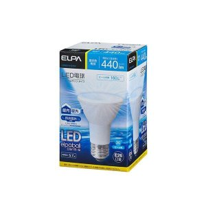 ELPA(エルパ) LED電球 ビーム球形 昼光色 LDR6D-W-G052 1798300|shoptakumi