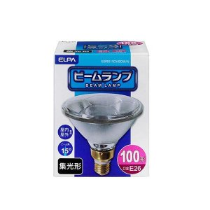 ELPA(エルパ) 屋外ビーム球(ビームランプ) 集光 EBRS110V80W/N 1803400|shoptakumi
