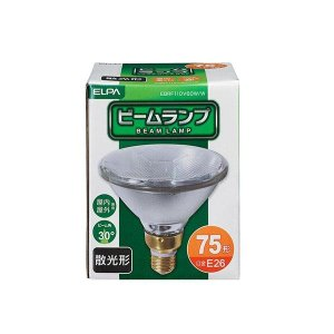 ELPA(エルパ) 屋外ビーム球(ビームランプ) 散光 EBRF110V60W/W 1803600|shoptakumi