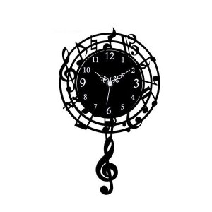 音符時計 振り子時計 G-1170BK|shoptakumi