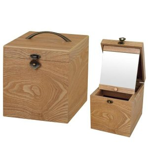 ナチュラリー コスメティックボックス ロングミラー G-2413N|shoptakumi