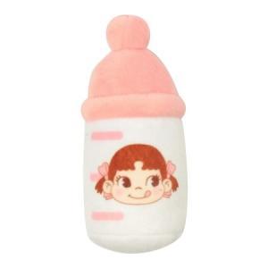ベビーおもちゃ BabyPeko ベビーペコちゃん ミルク哺乳瓶がらがら BPR-004|shoptakumi