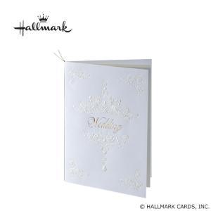 Hallmark ホールマーク ウエディングコレクション ホワイトティアラ 席次表セット 10名様用 EWD-543-051 代引き不可|shoptakumi