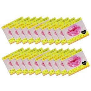 Pure Smile(ピュアスマイル) CHOOSY(チューシー) ハイドロゲルリップパック ハニー 20枚セット|shoptakumi