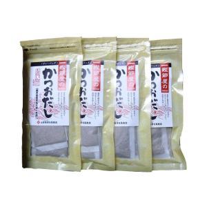 山吉國澤百馬商店 鰹節屋のかつおだし(8g×10包入)×4袋 化粧箱入り 代引き不可|shoptakumi