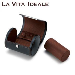 茶谷産業 LA VITA IDEALE(ラヴィータイデアーレ) ネクタイ&ウォッチケース 240-573BK|shoptakumi