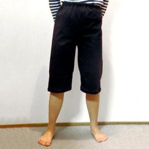日本製 子供用おねしょ半ズボン 男女兼用 ブラック 160cm|shoptakumi