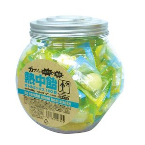 井関食品 熱中飴 ボトルミックス(100粒入り) BR-A100|shoptakumi