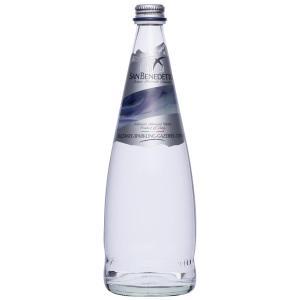 Sanbenedetto サンベネデット スパークリングウォーター グラスボトル 750ml×12本 代引き不可|shoptakumi
