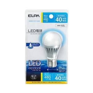 ELPA(エルパ) LED電球 ミニクリプトンタイプ 40W形相当 昼光色相当 LDA5D-H-E17-G408|shoptakumi