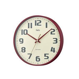 Felio(フェリオ) 壁掛け時計 チュロス レッド FEW182 R-Z|shoptakumi