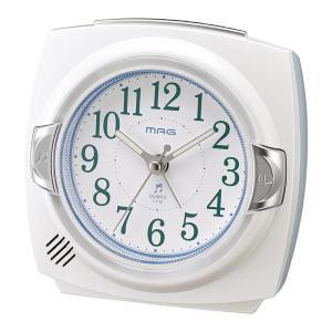MAG(マグ) 目覚まし時計 カペルマ ホワイト T-712 WH-Z|shoptakumi