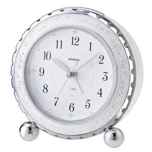 MAG(マグ) 目覚まし時計 アルブラン ホワイト T-723 WH-Z|shoptakumi