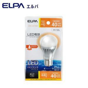 ELPA(エルパ) LED電球 ミニクリプトンタイプ 40W形相当 電球色相当 LDA5L-H-E17-G409|shoptakumi