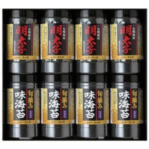 ゆかり屋本舗 有明海産 明太子風味・旬摘み味海苔セット YMI-40 7050-064|shoptakumi