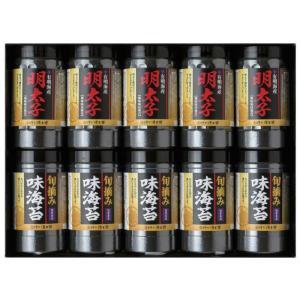 ゆかり屋本舗 有明海産 明太子風味・旬摘み味海苔セット YMI-50 7050-073|shoptakumi