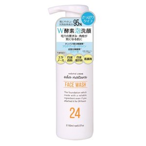eda natura(イーデナチュラ) W酵素泡洗顔 フェイスウォッシュ 150ml shoptakumi