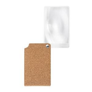 エッシェンバッハ viso POCKET(ヴィゾポケット) カード型ルーペ 革ケース付 ブラウン 2.5倍 1721-46 代引き不可|shoptakumi