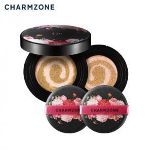 韓国コスメ チャームゾーン Ge カバークッションファンデーションEX レフィル付き GECFEX|shoptakumi