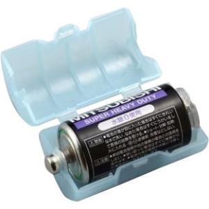 スマイルキッズ(SMILE KIDS) 単2が単1になる電池アダプター(2個入り) ブルー ADC-210 shoptakumi