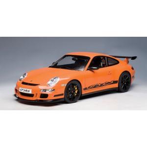 AUTOart 1/12 ポルシェ 911 (997) GT3 RS (オレンジ/ブラックストライプ) 12117 shoptakumi