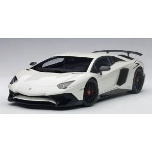 AUTOart ☆ 1/18 ランボルギーニ アヴェンタドール LP750-4 SV (パール・ホワイト)74555