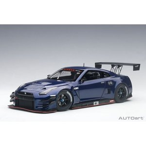 AUTOart 1/18 日産 GT-R NISMO GT3 (オーロラ フレア ブルー・パール)8...