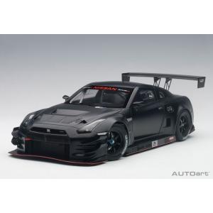 AUTOart◇1/18 日産 GT-R NISMO GT3 (マット・ブラック) 81580