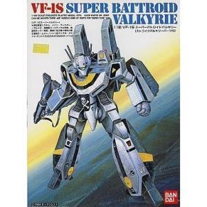 バンダイ 超時空要塞マクロス 1/100 VF-1S スーパーバトロイドバルキリー (ストライクバルキリーパーツ付)|shoptakumi