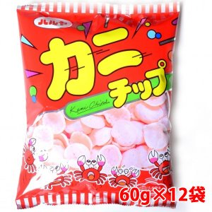 ハル屋 アルミパック カニチップ 60g×12袋|shoptakumi