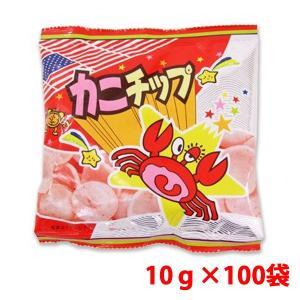 ハル屋 10g カニチップ 10g×100袋|shoptakumi