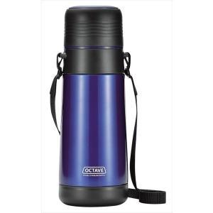 パール金属 オクターブ コップ付 広口ダブルステンレスボトル1000 HB-1743|shoptakumi