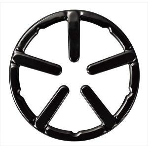 パール金属 五徳 ブラック 外径14cm 鉄鋳物製ミニ ホーロー加工 フェール HB-4198|shoptakumi