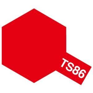 タミヤカラースプレー◇TS-86 ピュアレッド...