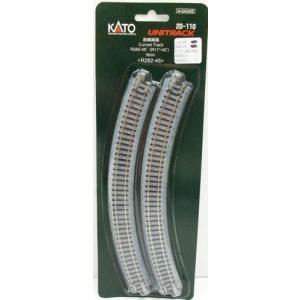 KATO Nゲージ [20-110] ユニトラック曲線線路 R282-45°(4本入) R282-45|shoptakumi