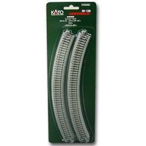 KATO Nゲージ [20-120] ユニトラック曲線線路 R315-45°(4本入) R315-45|shoptakumi