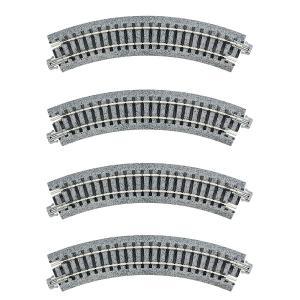 KATO Nゲージ [20-174] ユニトラックコンパクト 曲線線路 R150-45°(4本入) R150-45|shoptakumi