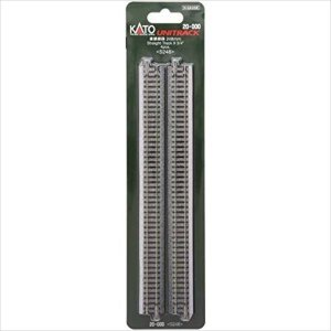 KATO Nゲージ ユニトラック 20-000 直線線路 248mm (4本入)|shoptakumi