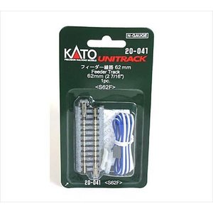 KATO Nゲージ ユニトラック 20-041 フィーダー線路 62mm 1本入|shoptakumi
