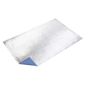 キャプテンスタッグ◇シルバーキャンピングマット(L)200×120cm(ブルー)  M-3311 shoptakumi