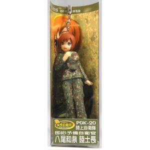 ピットロード▽女性自衛官ストラップ-八尾和泉[PGK20]【4986470014562】 shoptakumi