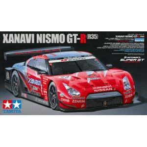 タミヤ☆1/24 XANAVI NISMO GT-R (R35) スポーツカーシリーズ No.308
