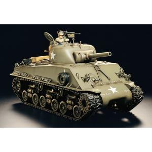タミヤ☆1/16 RCタンク M4シャーマン (105mm榴弾砲搭載型) フルオペレーションセット(2ch 送信機付き) 56013|shoptakumi