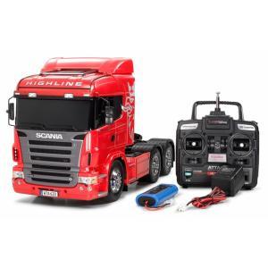 タミヤ☆1/14 RCビッグトラック スカニア R620 6X4 ハイライン フルオペレーションセット(プロポ付) 56322|shoptakumi