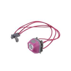 キャプテンスタッグ◇ミニデコ LEDヘッド&クリップライト(ピンク)  UK-3011|shoptakumi