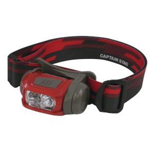 キャプテンスタッグ◇ギガフラッシュ LEDヘッドライト(ジオライン) UK-3018|shoptakumi