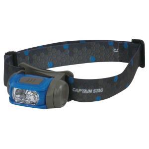 キャプテンスタッグ◇ギガフラッシュ LEDヘッドライト(ハニカム) UK-3019|shoptakumi
