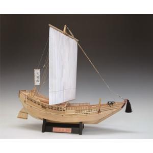 ウッディジョー☆木製帆船模型 1/72 北前船|shoptakumi