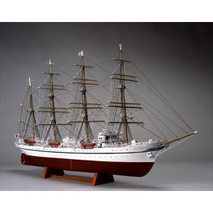 ウッディジョー☆木製帆船模型 1/160 新日本丸[帆なし・停泊]【4560134351431】|shoptakumi